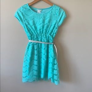 Girls One Step Up Lace Dress